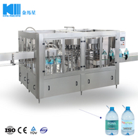 1500BPH Mineral Water Filling Machine for 5-10L